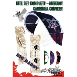 Kite Set Komplett - Cabrinha Convert 12 m² - Big Daddy
