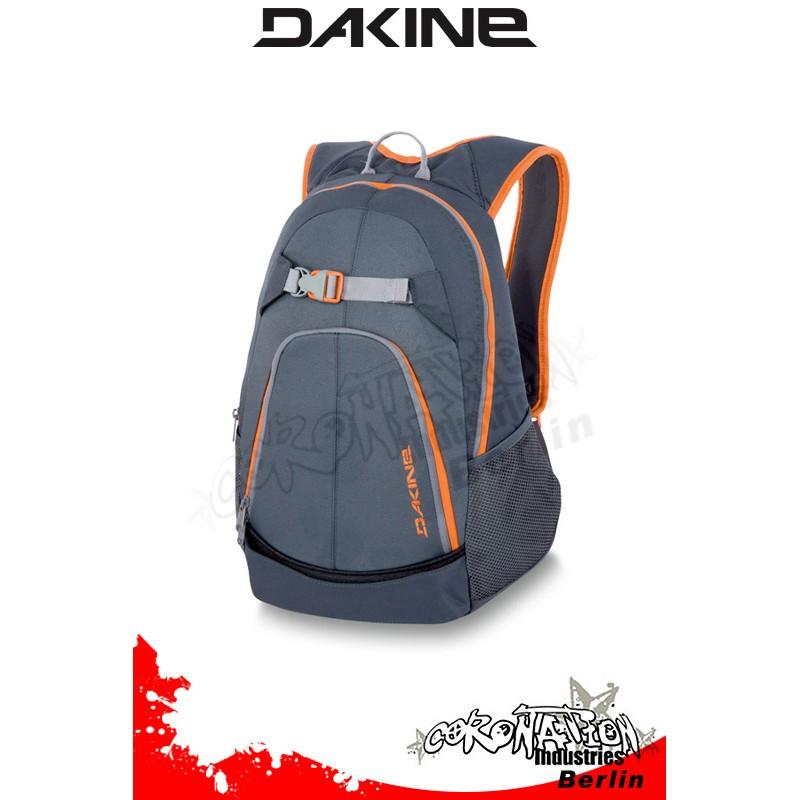 b8803080b8610 Dakine Pivot Pack Charcoal Orange Skate   Freizeit-Rucksack ...