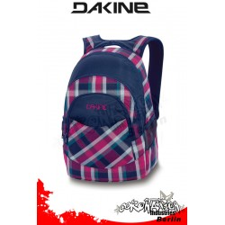Dakine Academy Pack Navy Vivienna Plaid Laptop-Freizeit-Rucksack