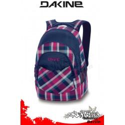 Dakine Academy Pack Navy Vivienna Plaid Laptop-Freizeit-Rucksack
