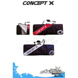 Concept-X Kiteboardbag Stream 147 schwarz-rot