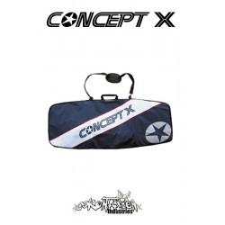 Concept-X Kiteboardbag Stream 132 blau-weiß