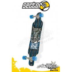 Sector 9 Platinum Super Shaka Longboard 108cm