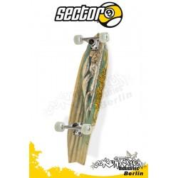 Sector 9 Bamboo barrera Longboard 86cm
