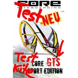 Core GTS Test Kite occasion 11 qm