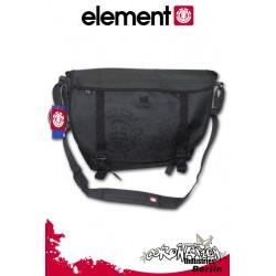 Element Classic Messenger Laptop Bag Schulter Umhängetasche Black