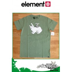 Element T-Shirt Element Rabbit S/S Fitted - vert Tea