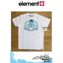 Element T-Shirt  Element Beavers S/S Fitted - White