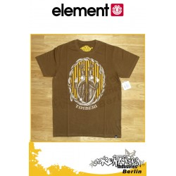 Element T-Shirt  The Duel S/S Fitted - Mocha