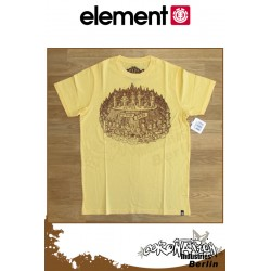 Element T-Shirt  The Band S/S Fitted - Straw