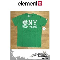 Element T-Shirt NY S/S Fitted - Aloe Green