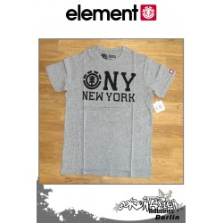 Element T-Shirt  NY S/S Fitted - Grey Heather