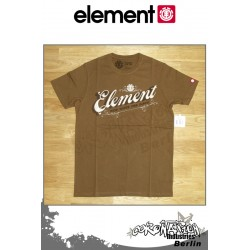 Element T-Shirt Scripto S/S Fitted - Mocha