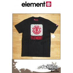 Element T-Shirt  Sunscan S/S Regular - Black