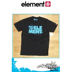Element T-Shirt Splash S/S Regular - Black