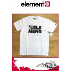 Element T-Shirt Splash S/S Regular - White