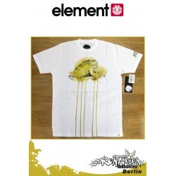 Element T-Shirt Earth S/S Regular - White