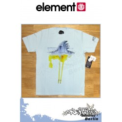 Element T-Shirt Water S/S Regular - Winter Sky