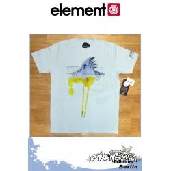 Element T-Shirt Water S/S Regular - Winter Sky