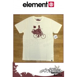 Element T-Shirt The Ride S/S Fitted - Natural