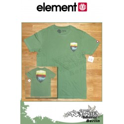 Element T-Shirt Teton II S/S Fitted - vert Tea
