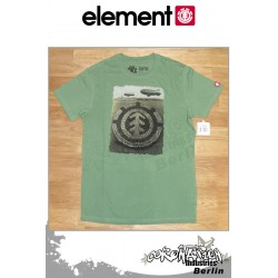 Element T-Shirt Formation S/S Fitted - Green Tea