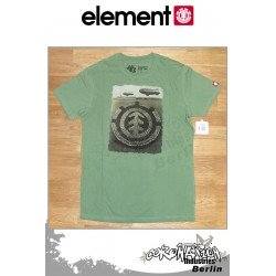 Element T-Shirt Formation S/S Fitted - vert Tea