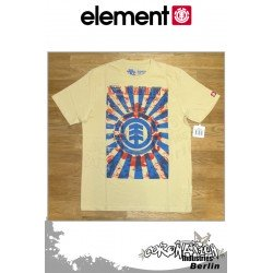 Element T-Shirt Scrolls S/S Regular - Vintage Yellow