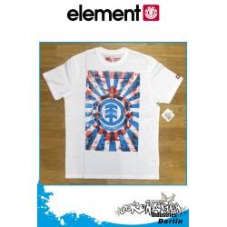 Element T-Shirt Scrolls S/S Regular - White