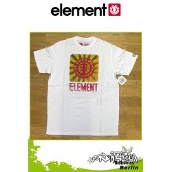 Element T-Shirt Sunscan S/S Regular - White