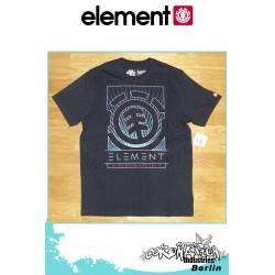 Element T-Shirt  Format S/S Regular - Total Eclipse