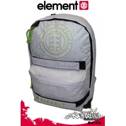 Element Skate Schul & Freizeit Rucksack Backpack Sealed - White