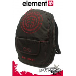 Element Rucksack Street & Schul Backpack Lockdown - Element Red