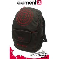 Element Rucksack Street & Schul Backpack Lockdown - Element Red