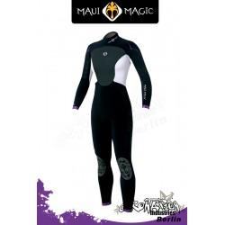 Maui Magic Neoprenanzug für Frauen - Hana Steamer D/L 5/3 - Blac