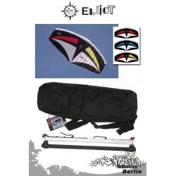 Elliot 2-Leiner Kite Sigma Sport R2F - 4.0 mit Control Bar