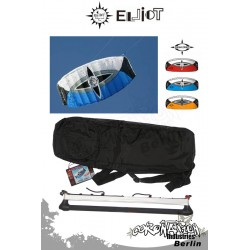 Elliot 2-Leiner Kite Sigma Spirit R2F - 2.0 avec Control barrere