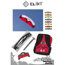 Elliot Lenkdulle 4-Leiner Tractionfoil LAVA II 4.1qm