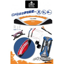 HQ Powerkites 2010 Crossfire II 10.0 R2F 4-Leiner Kite