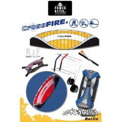 HQ Powerkites 2010 Crossfire II 6.5 R2F 4-Leiner Kite