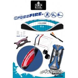 HQ Powerkites 2010 Crossfire II 3.0 R2F 4-Leiner Kite