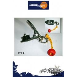 Libre Powersails Snatchblock Typ3 avec Edelstahl Schäckel