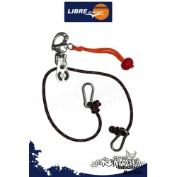 Libre Powersails Umlenkset with Panikhaken for Trapez