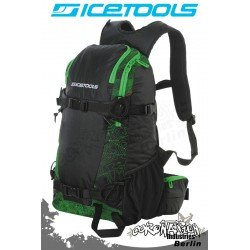 ICETOOLS Rucksack Backpack 2010 Arctic Vent 25L - Map Print