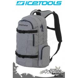 ICETOOLS Rucksack Backpack 2010 Getaway - Blue Tweed