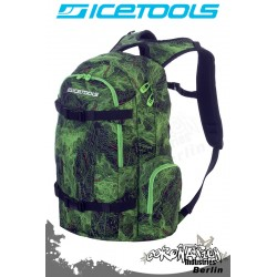 ICETOOLS Rucksack Backpack 2010 Getaway - Map Print