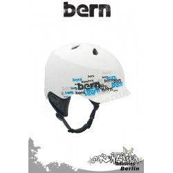 Bern Kite-Helm Watts H2O - White Scatter