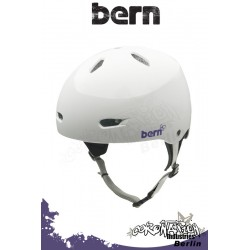 Bern Frauen Kite-Helm Brighton H2O - Gloss White