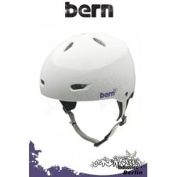 Bern Frauen Kite-Helm Brighton H2O - Gloss White