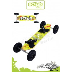 Scrub Mountainboard Monster Landboard ATB Slime vert